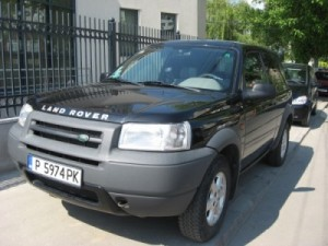 masina inmatriculata in Bulgaria