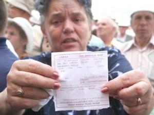 PENSIONARI - PROTEST - BRASOV